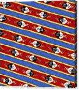 Swaziland Flag 3 Acrylic Print