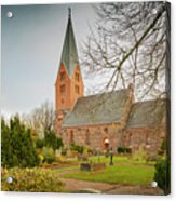 Swedish Brick Church Acrylic Print