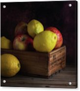 Sweet And Sour Fruits Still Life Acrylic Print
