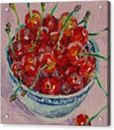Sweet Cherries Acrylic Print