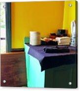 Sweet Corner Hues Acrylic Print