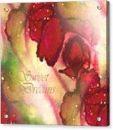 Sweet Dreams Acrylic Print by Melodye Whitaker