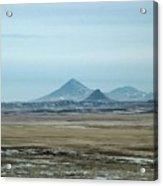 Sweet Grass Hills Pyramids Acrylic Print