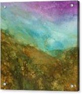 Sweet Hills Acrylic Print