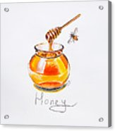 Sweet Honey Acrylic Print