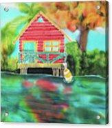 Sweet Island Home Acrylic Print