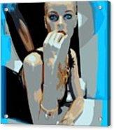 Sweet Judy Blue Eyes Acrylic Print