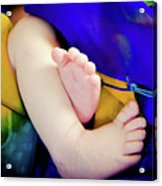 Sweet Little Baby Feet Acrylic Print