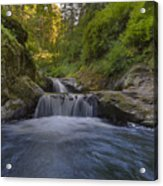 Sweet Little Waterfall Acrylic Print