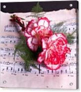 Sweet Music Acrylic Print