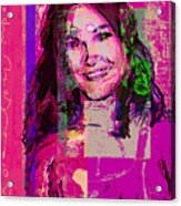Sweet Nat Acrylic Print