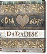 Sweet Paradise Series Acrylic Print