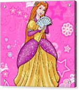 Sweet Princess Acrylic Print