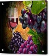 Sweet Red Wine # 3 Acrylic Print