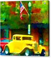 Sweet Ride Acrylic Print