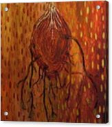 Sweet Tuber Vine Acrylic Print
