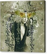 Sweet Webs Of Design Acrylic Print