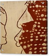 Sweethearts 10 - Tile Acrylic Print