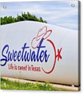 Sweetwater Sign  Acrylic Print