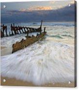 Swept Ashore Acrylic Print