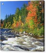 Swift River White Mountains Acrylic Print