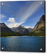 Swiftcurrent Lake - Glacier Np Acrylic Print