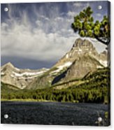 Swiftcurrent Lake Acrylic Print