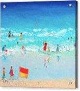 Swim Day Acrylic Print