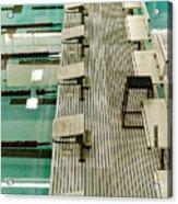 Swim Lanes Acrylic Print