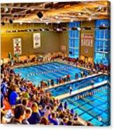 Swim Meet Acrylic Print