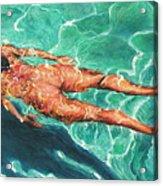 Swimmer 21 Acrylic Print