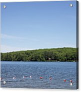 Swimming Area, Thorndike Pond Acrylic Print