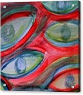 Swimming eyes Acrylic Print