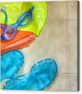 Swimming Gear Acrylic Print by Carlos Caetano