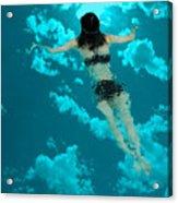 Swimming In The Sky Acrylic Print