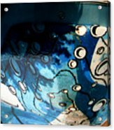 Swimming Pool Mural 2 Acrylic Print