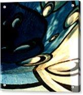 Swimming Pool Mural Detail 2 Acrylic Print