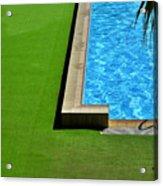 Swimming Pool Acrylic Print