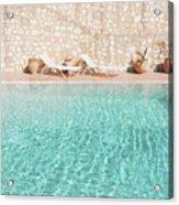 Swimming Pool V Acrylic Print