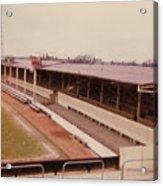 Swindon - County Ground - Main Stand 1 - 1970 Acrylic Print