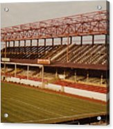 Swindon - County Ground - Main Stand 2 - 1970s Acrylic Print