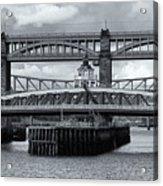 Swing Bridge Acrylic Print