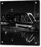 Swing Bridge Too Acrylic Print