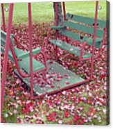 Swing Set Acrylic Print