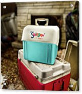 Swinger Cooler Acrylic Print
