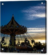 Swingin Sunset Acrylic Print