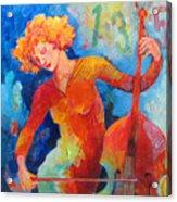Swinging At Club 135 Acrylic Print by Susanne Clark