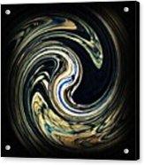 Swirl Design  Acrylic Print