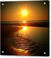 Swirl Me A Sunrise Acrylic Print