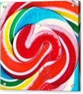 Swirl Of Happiness Acrylic Print